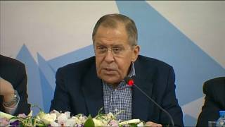 Russia says the western strikes on Syria are 'unacceptable and lawless'