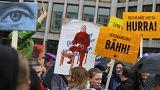 Mehr als 13.000 protestieren gegen hohe Mieten in Berlin