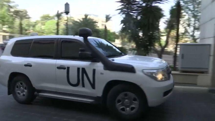 Expertos en armas químicas llegan a Siria