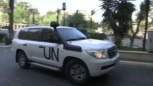 Chemiewaffenermittler in Damaskus eingetroffen