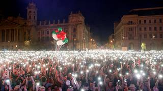 Ουγγαρία: Ογκώδης διαδήλωση κατά του Βίκτορ Όρμπαν