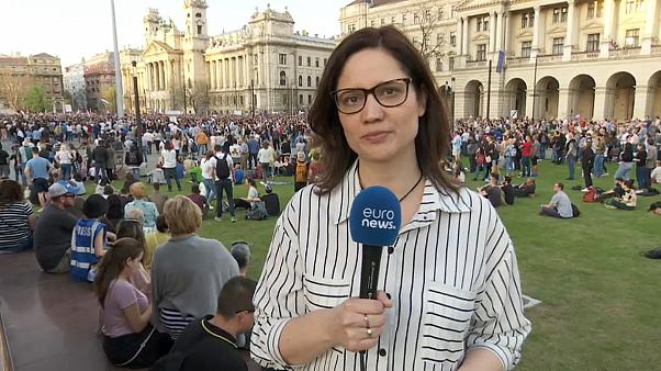 Венгрия: протесты против Орбана