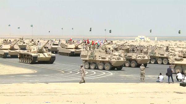 قوات عسكرية من 25 دولة تشارك في تدريبات بالذخيرة الحية في السعودية