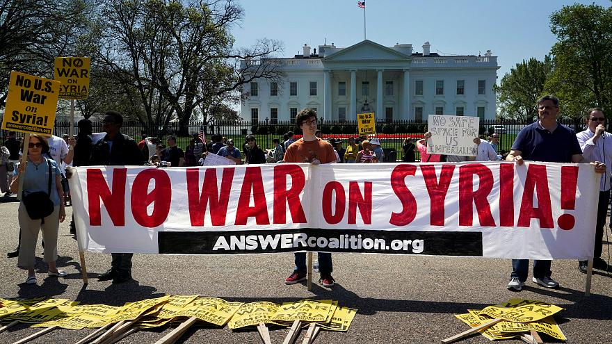 Syria strikes spark opposition in the West