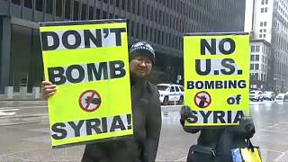 Nem mindenki örül a légicsapásoknak Nyugaton