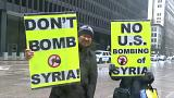 Удар по Сирии: протест в Чикаго и мнения политиков