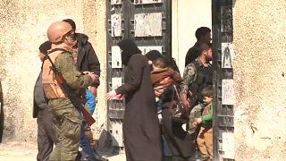 Восточная Гута под контролем Асада