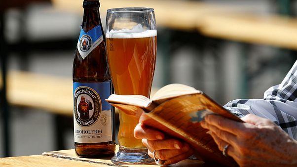 كأس بيرة
