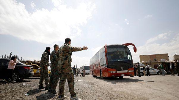 Douma tomada pelo exército sírio