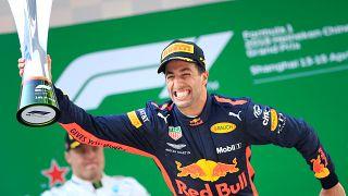 Formule 1 : victoire surprise de Ricciardo au GP de Chine