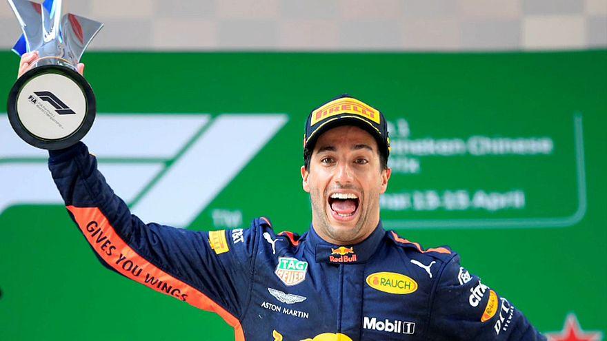 Риккьярдо выиграл Гран-при Китая