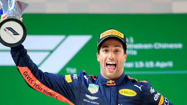 پیروزی شگفتانگیز راننده ردبول در مسابقات فرمول ۱ شانگهای