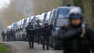 Çevreci eylemciler ile polisin karşı karşıya geldiği yer: Notre Dame des Landes