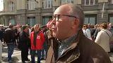 Tisztességes nyugdíjakért tüntettek Madridban