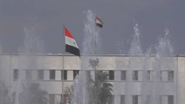 Relief in Damascus after Allied strikes
