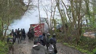 Notre Dame des Landes, nuovi scontri tra polizia e zadisti