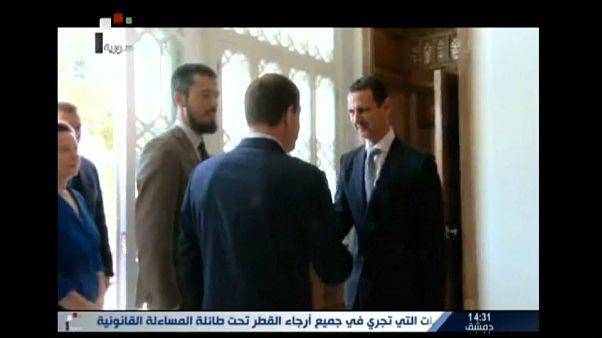 Bashar al-Assad reuniu-se com deputados russos