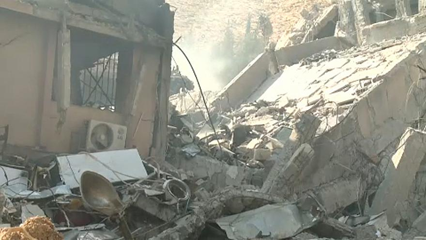 Szíria: a nyugati légicsapások másnapján
