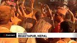 "Nepal: Festival Sindoor Jatra deixa toda a gente ""avermelhada"""