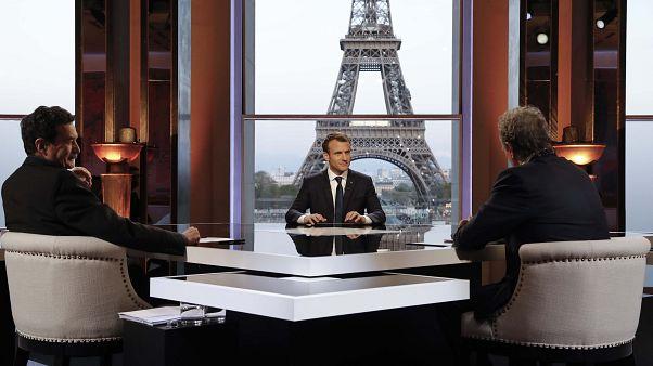 """Armes chimiques : """"Les Russes sont complices"""", selon Macron"""