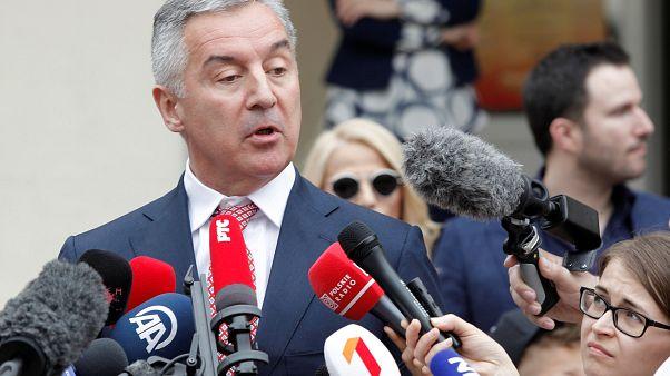 Milo Djukanović in Podgorica