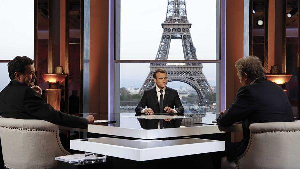 Macron: Türkler ve Rusları ayırmayı başardık