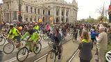Μαζική ποδηλατοπορεία στη Βιέννη