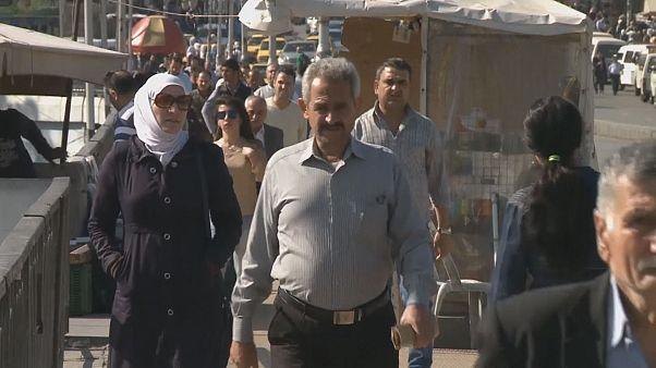 """Dans les rues de Damas, on blâme les """"agresseurs"""""""