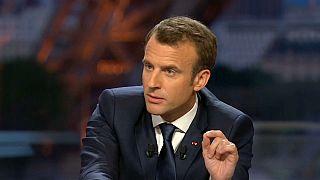 """Macron considera """"legítima"""" la intervención en Siria"""