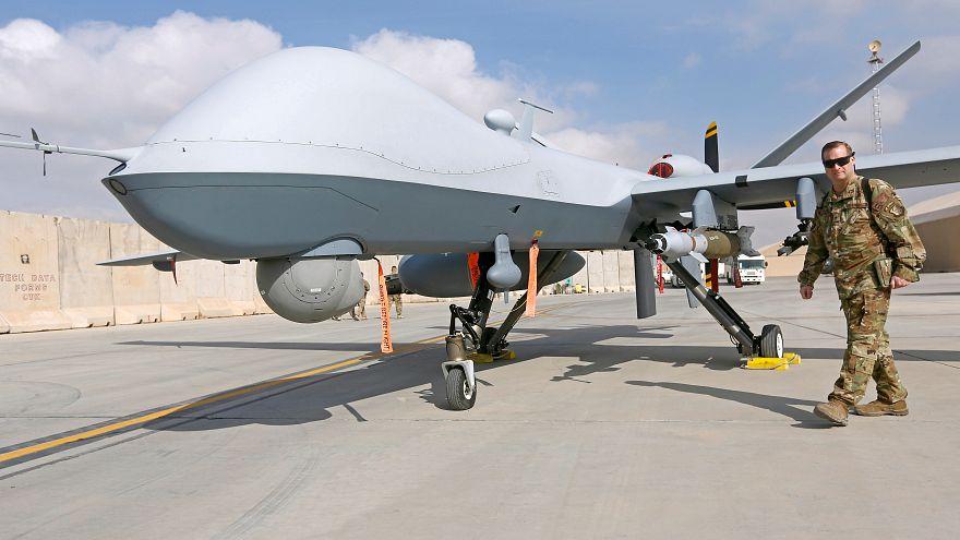 طائرة بلا طيار أميركية من نوع MQ-9 Reaper