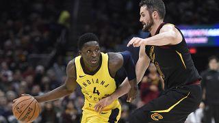 NBA: Индиана одержала верх над Кливлендом