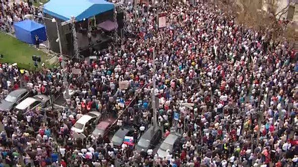 Újabb tüntetés Szlovákiában