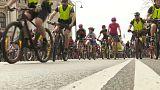 Tausende feiern 8. Wiener Radparade