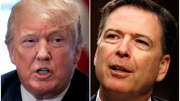 Ex-FBI boss Comey brands Trump 'morally unfit to be president'