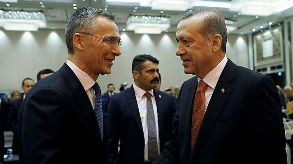 رئیس جمهوری ترکیه و دبیر کل ناتو