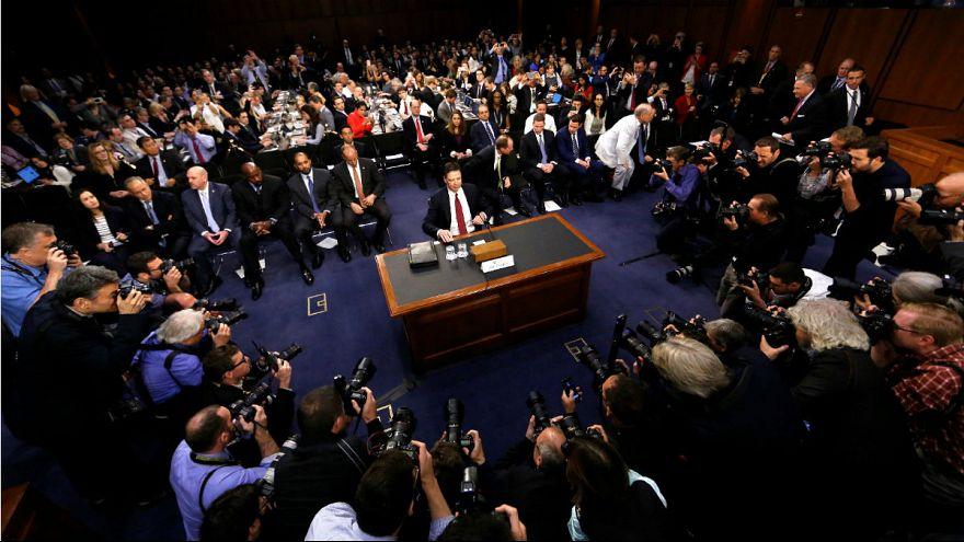 James Comey a szenátusi meghallgatásán