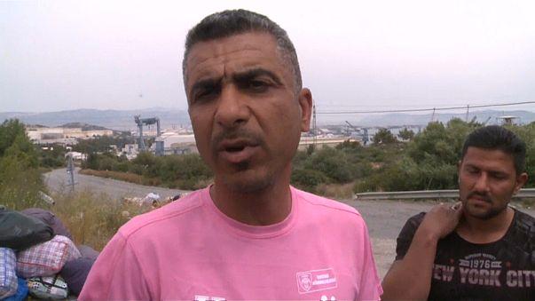 Ahmed, rifugiato iracheno bloccato in Grecia