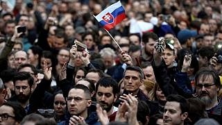 Σλοβακία: Διαδήλωση για την καταπολέμηση της διαφθοράς