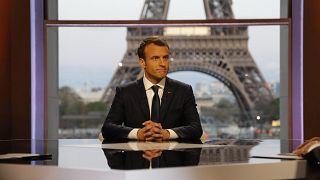الرئيس الفرنسي إيمانول ماكرون