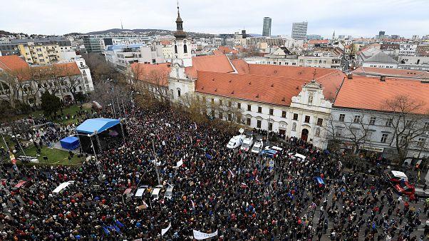 Nouvelle manifestation anti-corruption à Bratislava