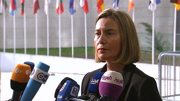 UE pede intervenção de Rússia e Irão no conflito sírio