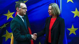 UE : resserrer les rangs après les frappes en Syrie