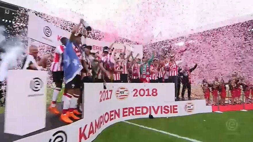 PSV Eindhoven, Manchester City und Paris Saint Germain feiern vorzeitige Meisterschaft