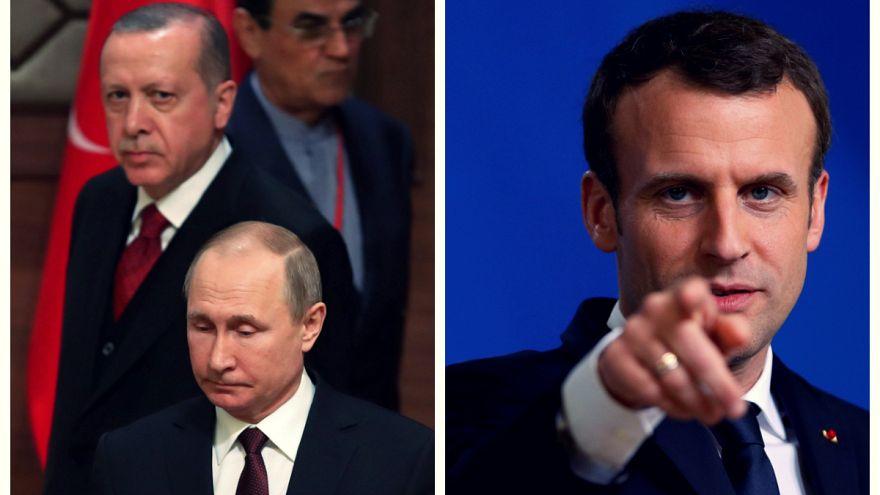 ترکیه: رابطه ما با روسیه  قویتر از آن است که با اظهارات ماکرون شکسته شود