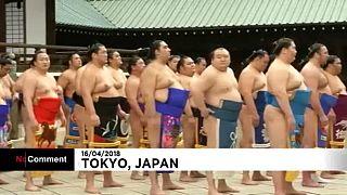 Szumó-fesztivál Japánban