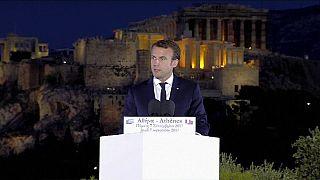 Macron AB hedeflerini anlatacak