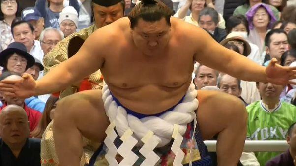 Japon : le printemps des sumos