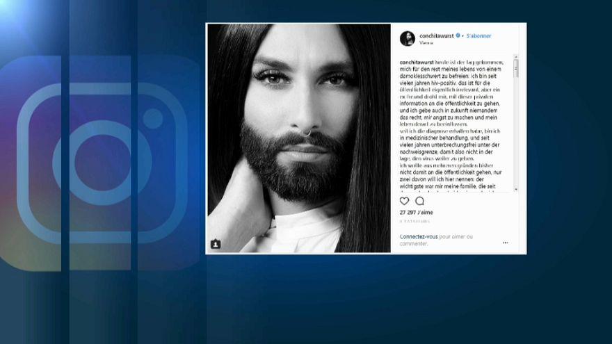 Conchita Wurst confessa ser seropositiva