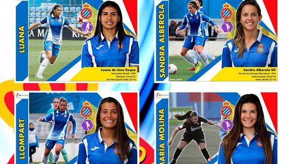 Ισπανία: Ένα ποδοσφαρικό άλμπουμ με αυτοκόλλητα...μόνο για γυναίκες!
