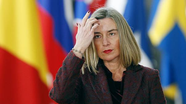 EU 'understands' Syria strikes but calls for peace talks, says Mogherini